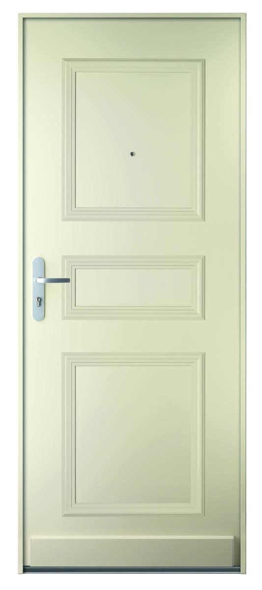 Bloc-porte de maison blindé certifié BP1